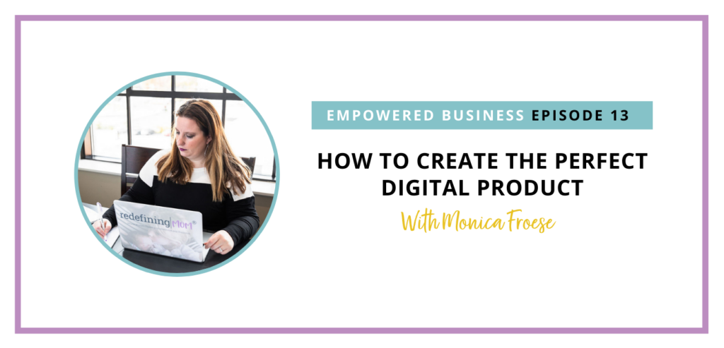 I am teaching you how to decide on and create the perfect, profitable digital product you can sell to your audience or your future audience.